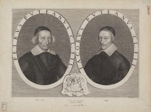 Portret van Petrus Puteanus (1582-1651) en Jacobus Puteanus (?-1656)