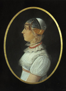 Portret van Aagje Jacobsdr. Breet (1802-1824)