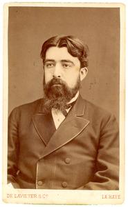 Portret van Willem Hendrik de Beaufort (1845-1918)