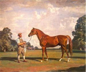 Hyperion, winnaar van de Derby en St. Leger 1933