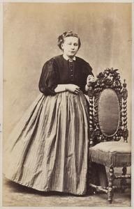Portret van een vrouw uit familie Van Bergum