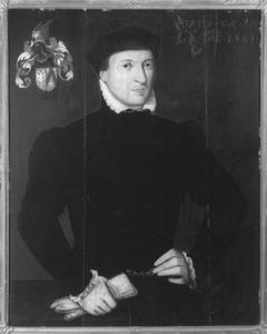 Portret van Jan Jansz Diert (1528/1529-1582)