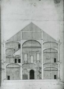 Villa Spinola di San Pietro: Dwarsdoorsnede