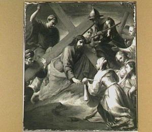 De ontmoeting van de H. Veronica en Christus op zijn Kruisweg