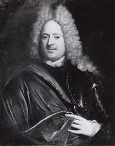 Portret van Lambert Joost van Hambroick (1670-1748)