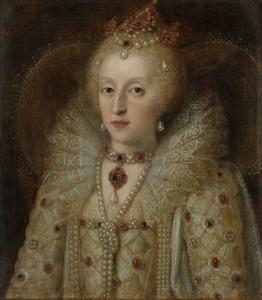 Portret van Elisabeth I Tudor (1533-1603)