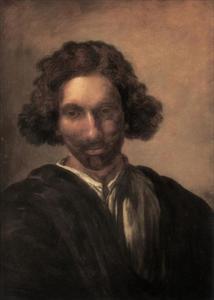 Zelfportret van Pieter van Laer (1599-1642?)