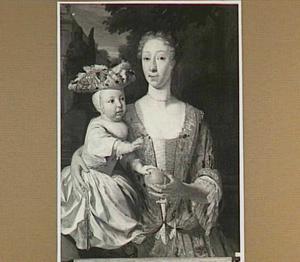 Portret van Deborah de Vries (1708-1749)