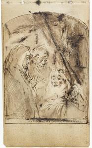 Simeon en het Christuskind in de tempel