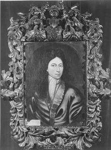 Portret van Edzard Duco van Harinxma Thoe Slooten (1654-1693)