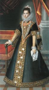 Portret van Caterina Micaela di Savoie (1567-1597)