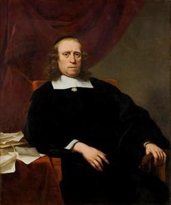 Portret van David de Wildt (1611-1671)