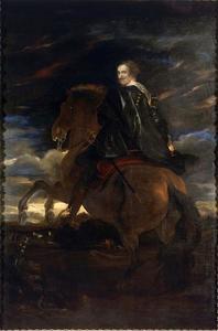 Ruiterportret van Giovanni Paolo Balbi (1607-1683)