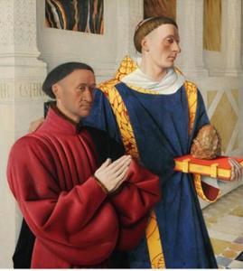 Etienne Chevalier met de Heilige Stephanus