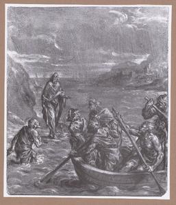 Christus verschijnt aan de apostelen op het meer van Tiberias