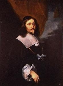 Portret van Jørgen Holgersen Rosenkrantz van Kjeldgaard (1607-1675)