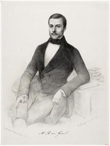 Portret van Rijklof van Goens (1829-1888)