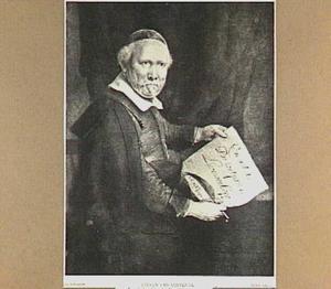Portret van Lieven Willemsz. van Coppenol (1598-1687/'68)