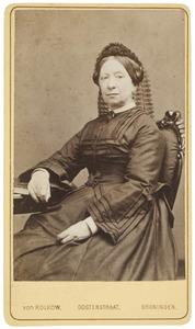 Portret van Maria Albertina Alberda van Ekenstein (1816-1871)