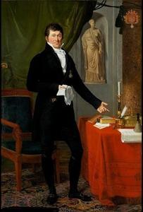 Portret van Charles Louis Guillaume Joseph de Keverberg de Kessel (1768-1841)