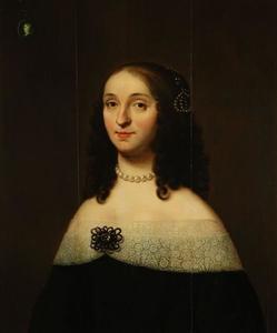 Portret van Ida Maria Hooft