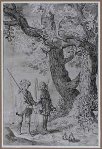 Tobias en de aartsengel Raphael onderweg