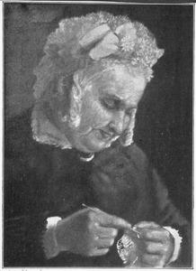 Portret van mejuffrouw Van Minden