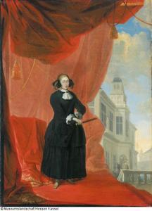 Portrait of Koningin Christina van Zweden (1626-1689)