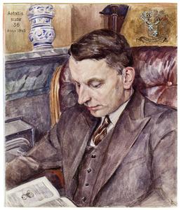 Portret van Cornelis Johannes Schimmelpenninck van der Oye (1906-1987)