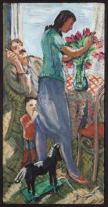 Familie Jan Peeters  (Johannes Christiaan Peeters kunstschilder Amsterdam 1912-10-31-1992-12-27 Amsterdam)