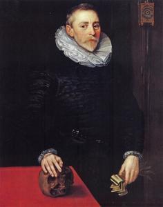 Portret van Jacob Wittewronghele (1558-1622)