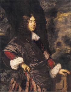 Portret van Binnert Heringa (Sirtema) van Grovestins (1641-1696)