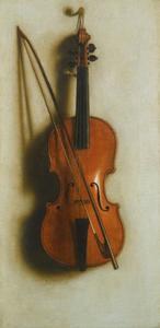 Portret van een viool