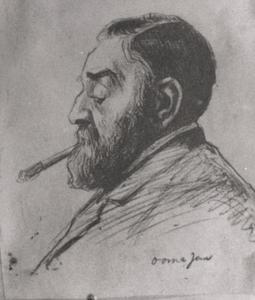 Portret van Johannes Vlooswijk (1837- )