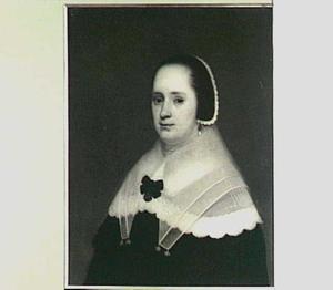 Portret van Elisabeth van den Sande (?-?)
