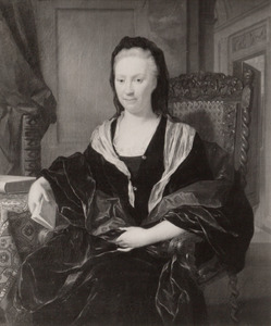 Portret van Catharina de Hochepied (1654-1728)