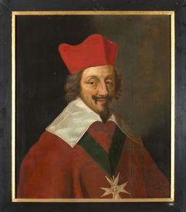 Portret van Armand Jean du Plessis, kardinaal de Richelieu (1585-1642)