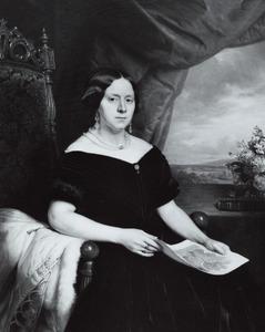 Portret van Henriette Hillegonda de Waal (1810-1857)