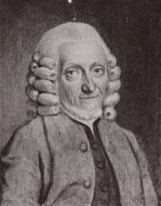 Portret van Tobias Boas (1696-1782)