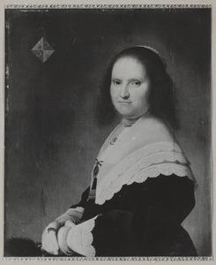 Portret van Anna van Schoonhoven (....-1647)