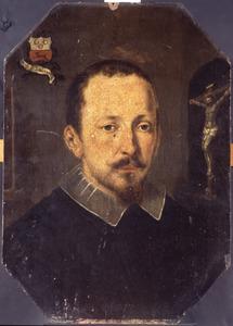Portret van een geestelijke, mogelijk Johannes Stenius ( -1669)