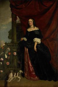 Portret van Sophia Anna van Pipenpoy (....-1670)