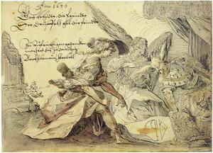 Allegorie van de vrije kunsten ten tijde van de Dertigjarige Oorlog