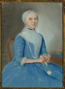 Portret van Dingena van der Hart (....1833)