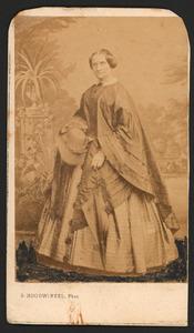 Portret van juffrouw Brugmans