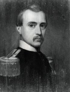 Portret van een man, waarschijnlijk Willem Bernardus Bunnik (1822-1886)