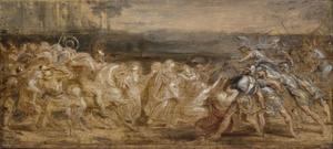 De verzoening van de Romeinen en de Sabijnen