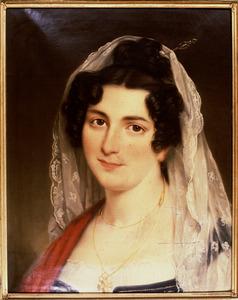 Portret van Christine Elisabeth Rosalie de Montrond (1784-1811)