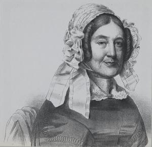 Portret van Elisabeth Christina Melvill van Carnbee (1777-1852)