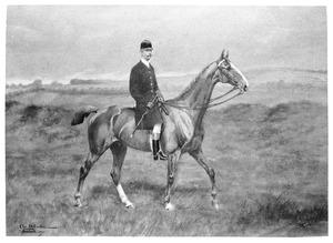 Portret van Willem Frederik Maurits Alexander Hendrik Carel van Heeckeren van Enghuizen (1858-1915)